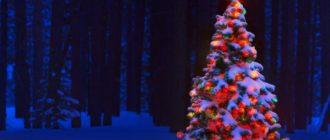Рождественская (новогодняя) елка