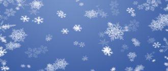 Викторина «Снег» (с ответами)